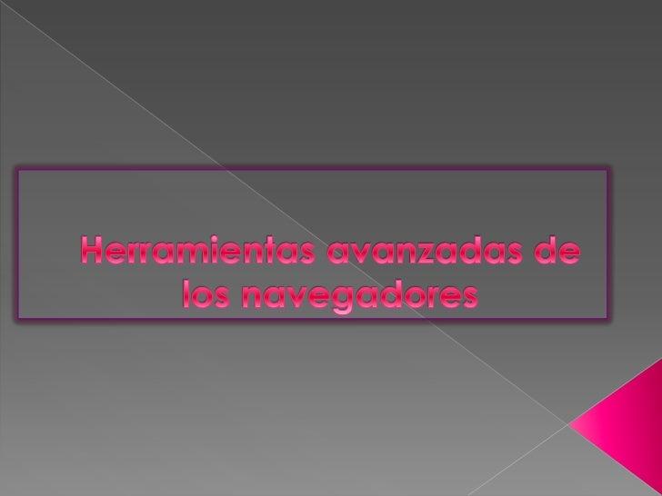 Un navegador o navegador web es una aplicación que opera a través de Internet, interpretando la información de archivos y ...