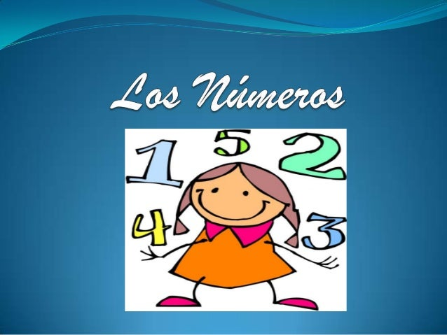 Los números 1 - 5
