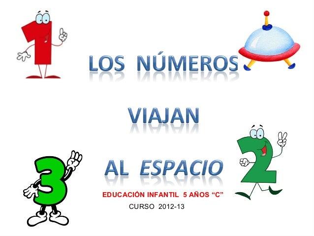 """EDUCACIÓN INFANTIL 5 AÑOS """"C""""      CURSO 2012-13"""