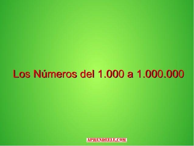 Los numeros del 31 al infinito