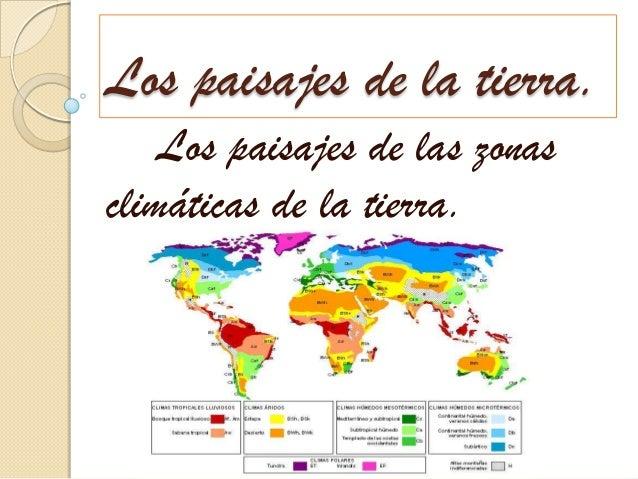 Los paisajes de la tierra, clima continental.
