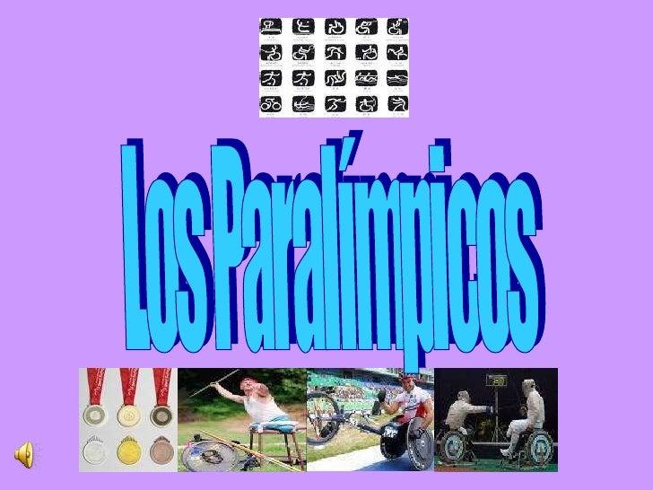 Los Paralímpicos
