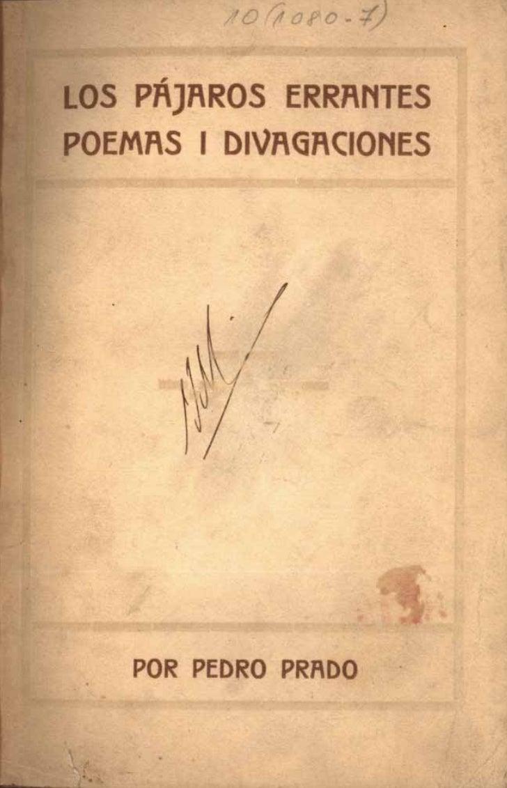 LOS PAJAROSERRANTES