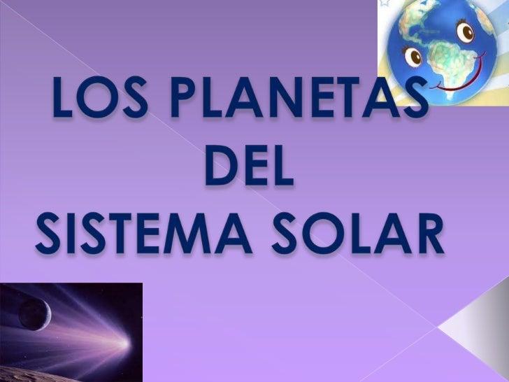 Los planetas diapositivas d informatica nuevas
