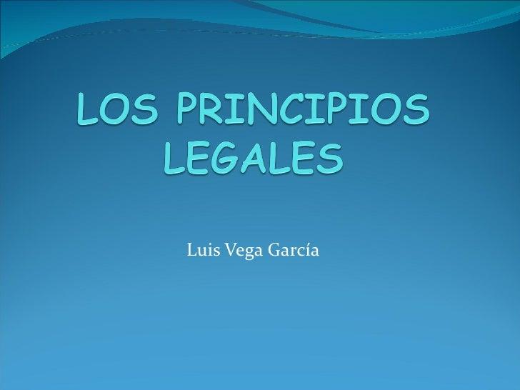 Luis Vega García