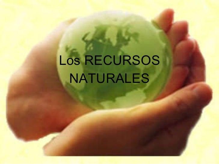 Los recursos naturales blog!