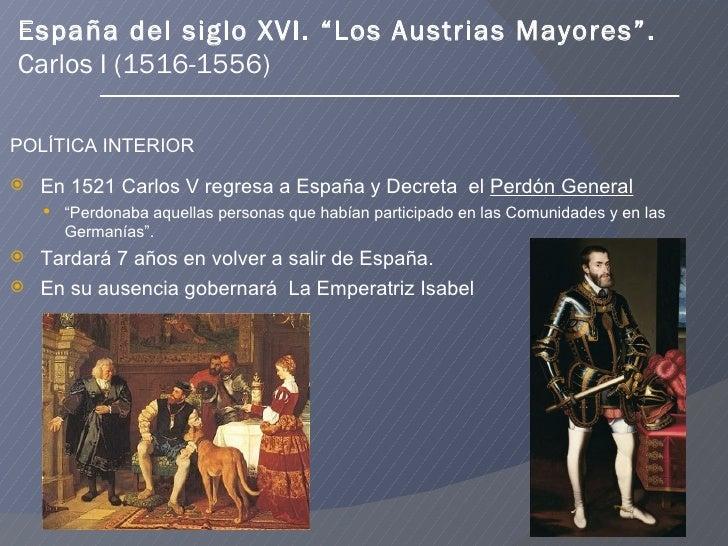 Espa a el reinado de carlos i y felipe ii for Politica exterior de espana
