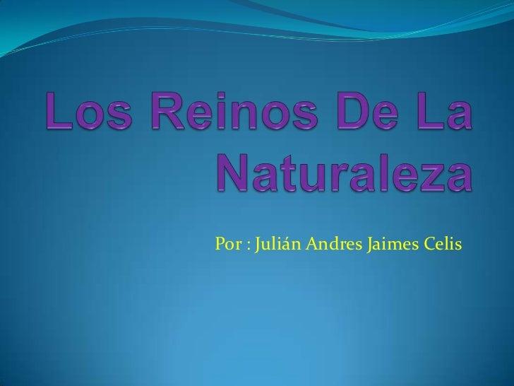 Por : Julián Andres Jaimes Celis