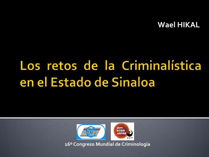Los retos de la criminalística