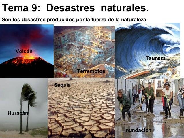 Resultado de imagen de RIESGOS NATURALES