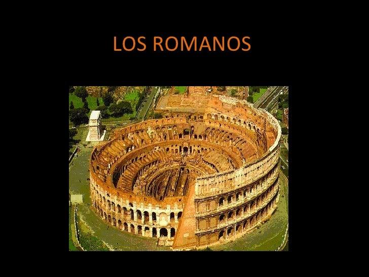 Los Romanos Y Su Administracion