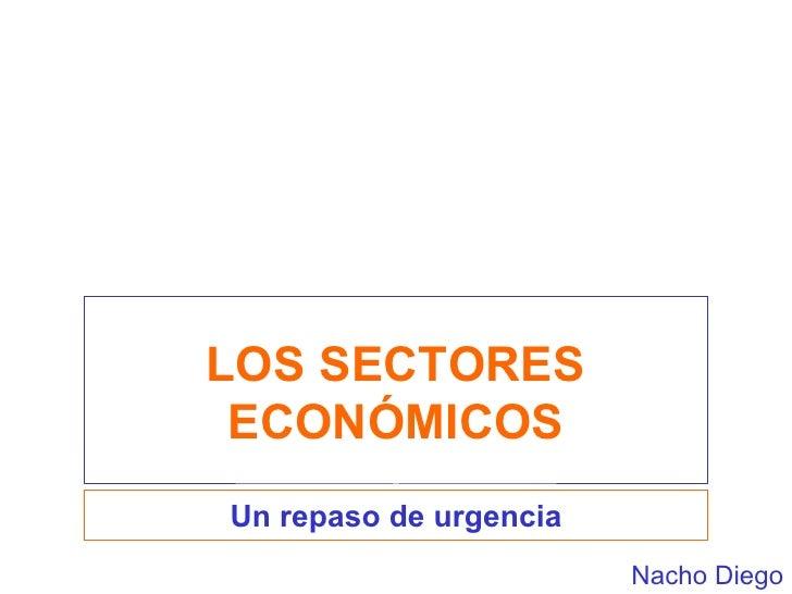 los ectores economicos