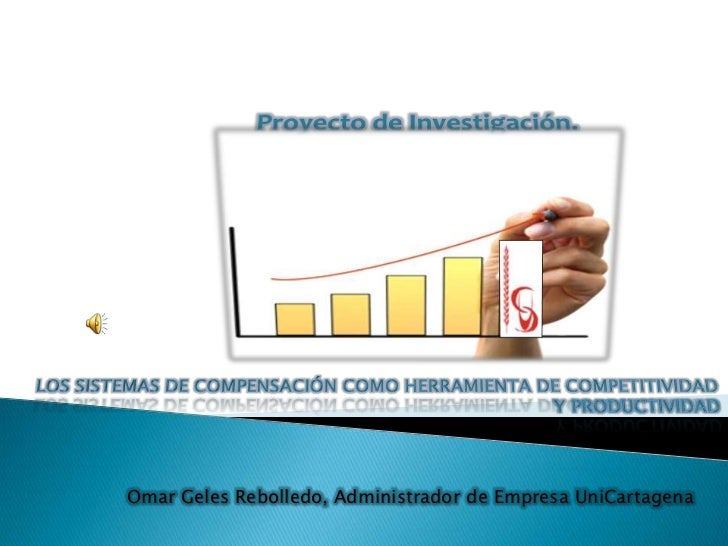 Omar Geles Rebolledo, Administrador de Empresa UniCartagena