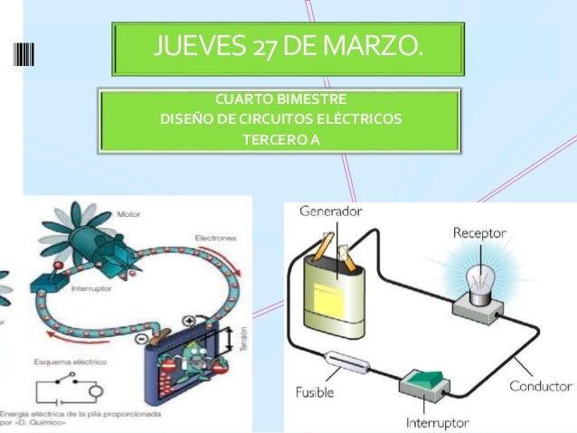 CUARTO BIMESTRE DISEÑO DE CIRCUITOS ELÉCTRICOS TERCERO A JUEVES27DEMARZO.