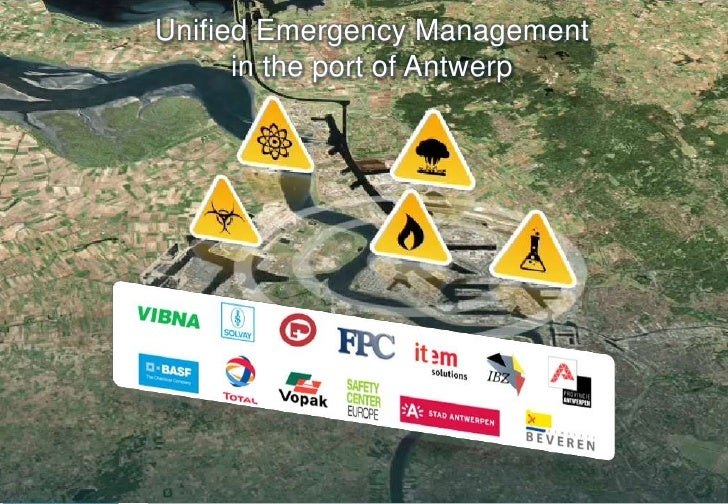 1<br />Unified Emergency Managementin the port of Antwerp<br />