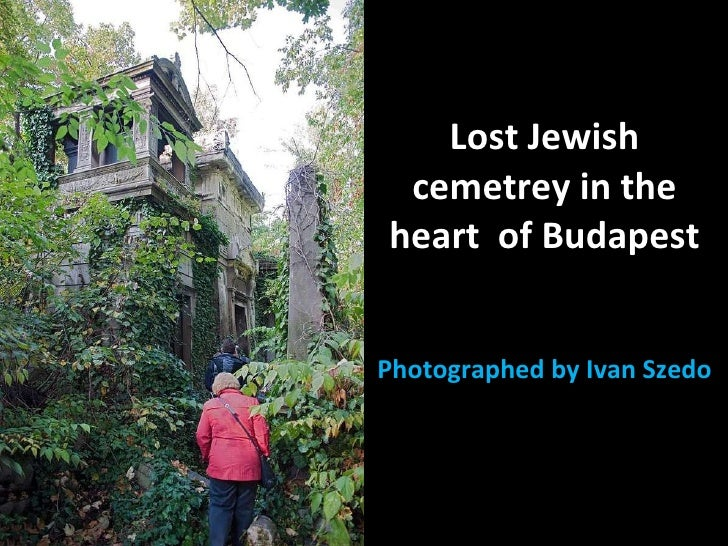 Lost Jewish cemetrey in the heart  of Budapest Photographed by Ivan Szedo