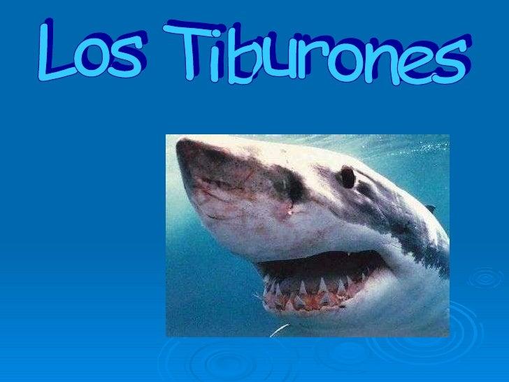 Los Tiburones (En Castellano)