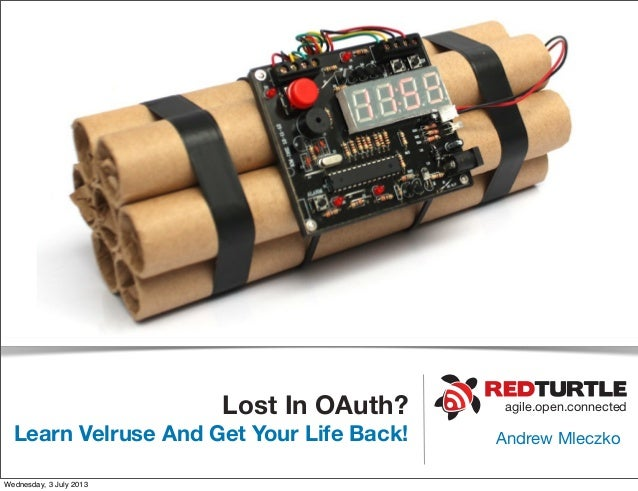 Lost in o auth? learn velruse and get your life back