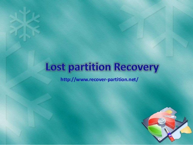 Lost Partition Recovery Software to Recover Lost or Deleted Data