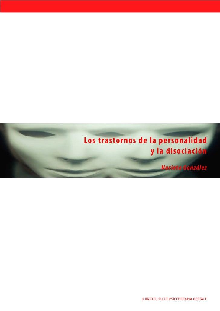 Los trastornos de la personalidad y la disociacion