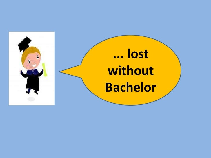 ... lostwithoutBachelor