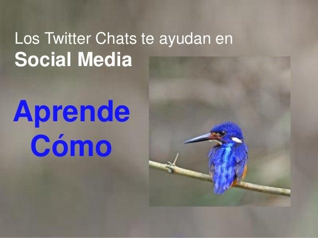 Los Twitter Chats te ayudan en Social Media Aprende Cómo