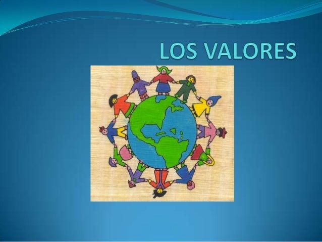 QUE SON LOS VALORES?  Los valores son principios que nos permiten orientar  nuestro comportamiento en función de realizar...
