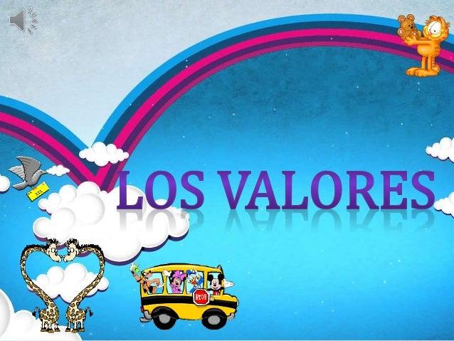 1. LOS VALORES 1.1 MÁS VALORES 1.2 ARBOL DE LOS VALORES 2. EJEMPLO (VIDEO) 3. ACTIVIDAD