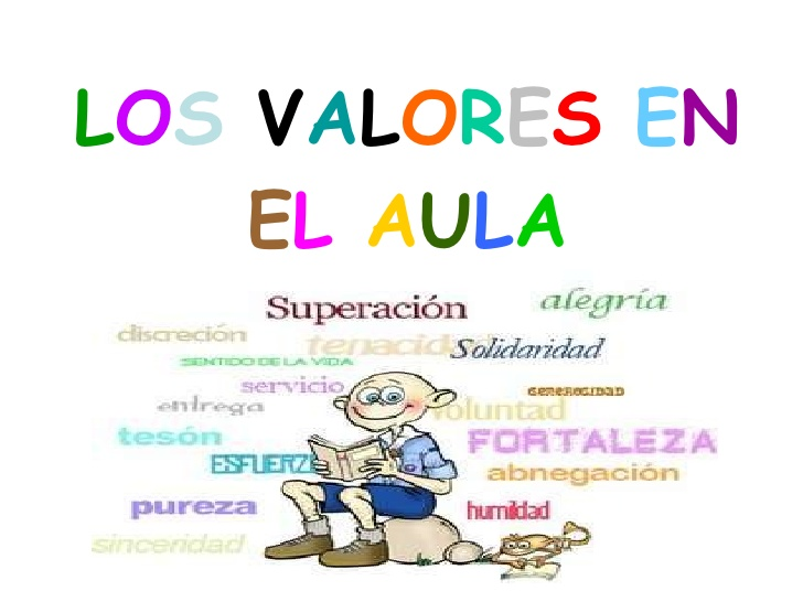 las valores: