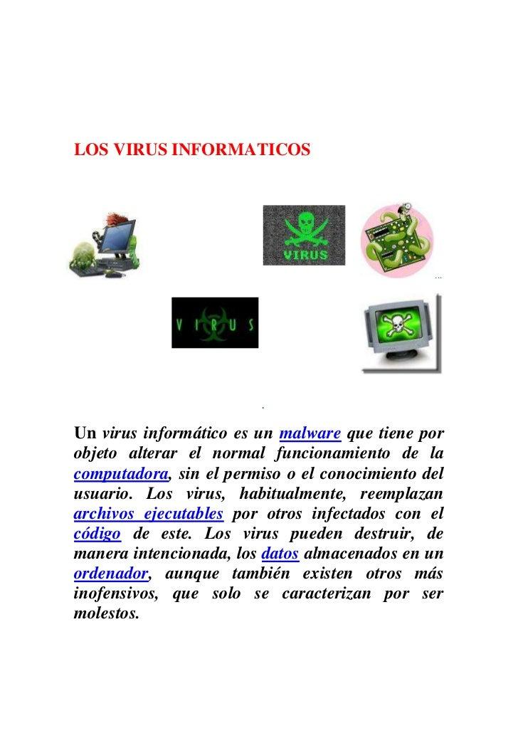 NOMBRE  DANIEL VEGA2011LOS VIRUS INFORMATICOSEN QUE AFECTA LOSVIRUS maquina1[Escribir la dirección de la compañía]<br />.....