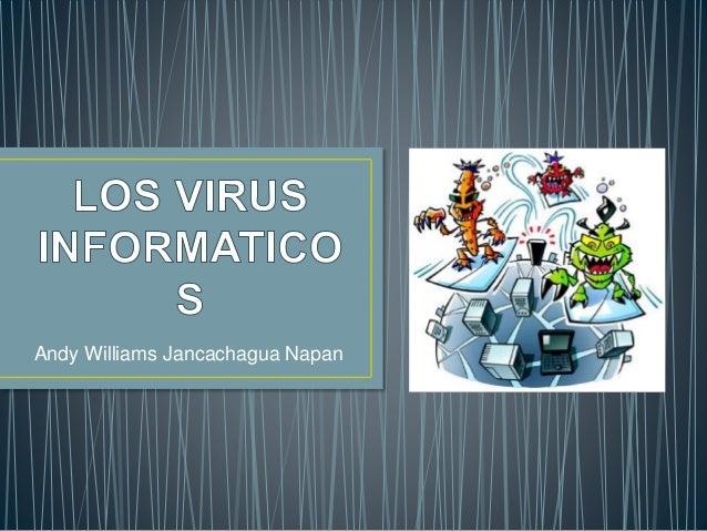 Andy Williams Jancachagua Napan
