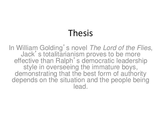 thesis for science