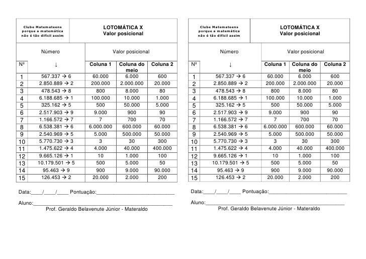 Lotomática 10