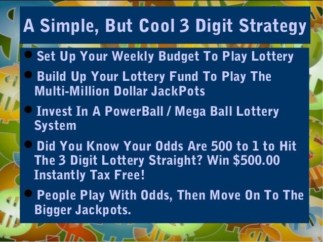 tax free lottery winnings