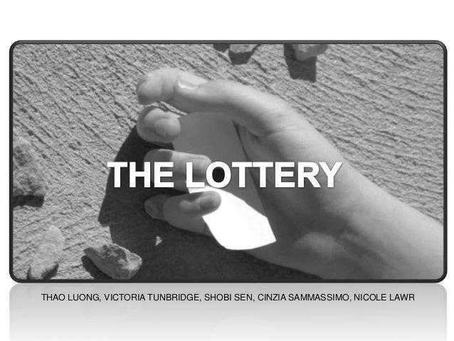 The Lottery - Transmedia