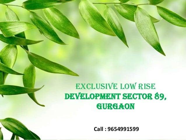 Lotus Green Floors, Sector-89, Gurgaon