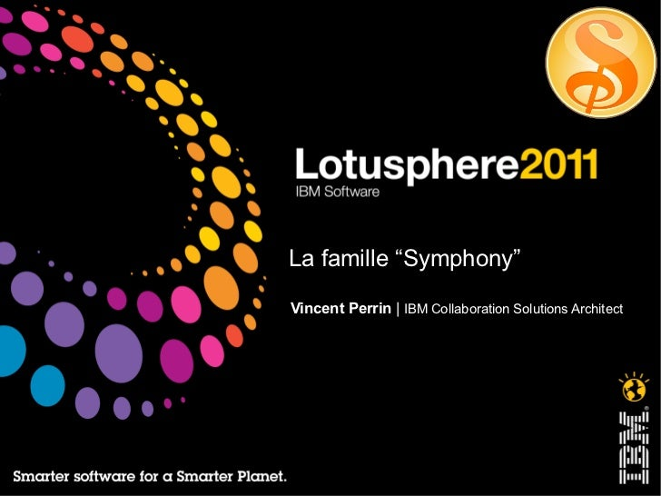 "La famille ""Symphony"" Vincent Perrin  