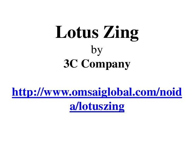 2, 3 BHK Apartments - 3C Lotus Zing Noida
