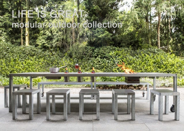 LIFE IS GREAT modular outdoor collection