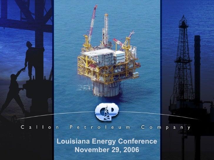 Louisiana Energy (Test)