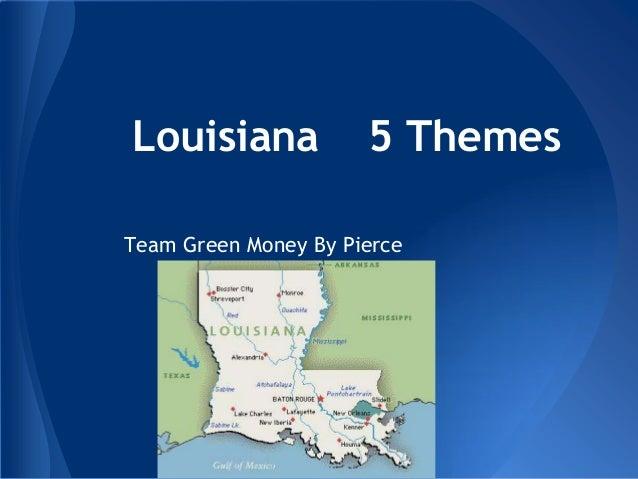 Louisiana Green 5 Themes