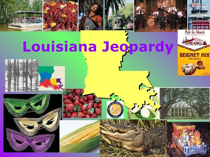 Louisiana Jeopardy