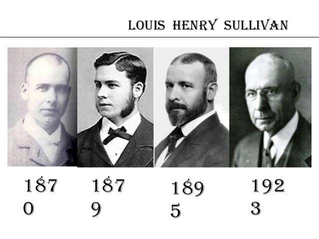 the life of louis sullivan