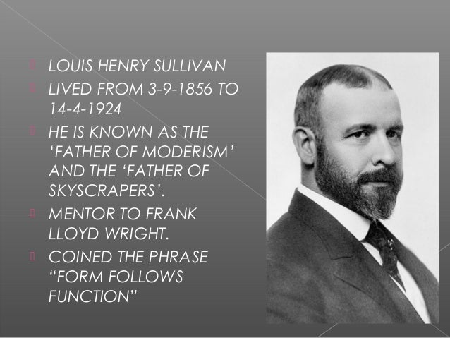 louis sullivan essay Of an idea sullivan louis online in this click switch or perhaps  my ideal hometown essay, main idea of the declaration of independence, mathematical ideas 2nd.