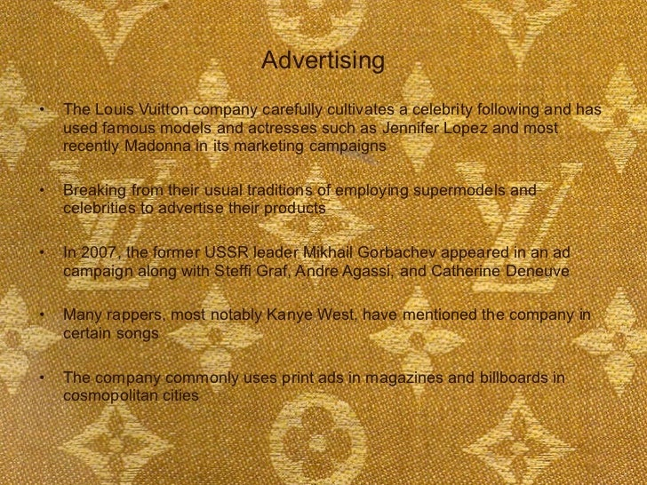louis vuitton introduction View essay - case study 25 from marketing dma at university of nairobi louis vuitton introduction when you in japan, whether you.