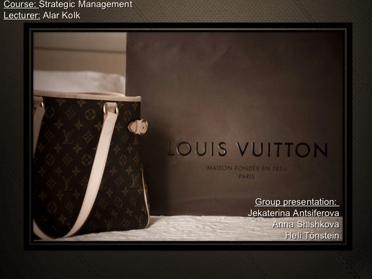 louis vuitton analysis Global strategy local strategy competitor analysis brand positioning cbbe rich history and culture not only is louis vuitton one of the most well-known fashion.