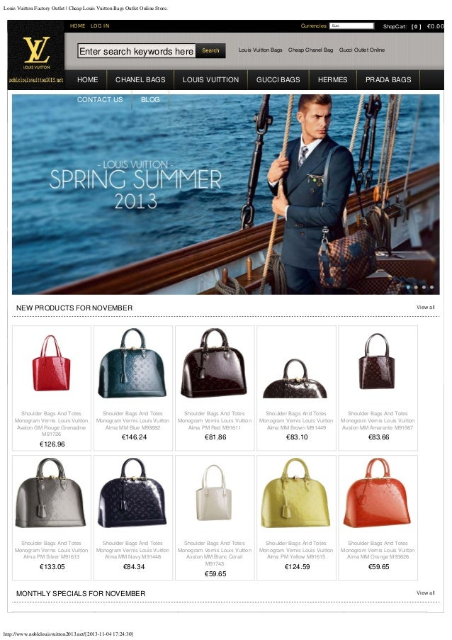 Louis vuitton factory outlet   cheap louis vuitton bags outlet online store