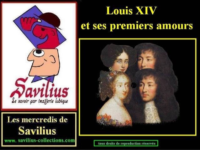 """Louis XIV et ses premiers """"amours"""""""