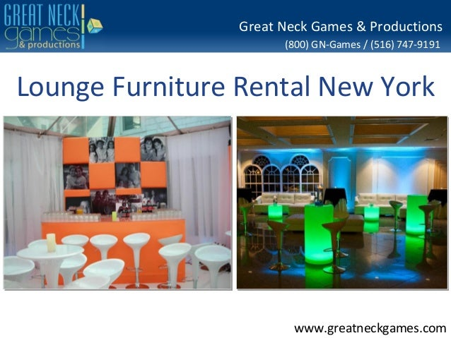 Lounge furniture rental nyc event specialists serving for Furniture rental new york