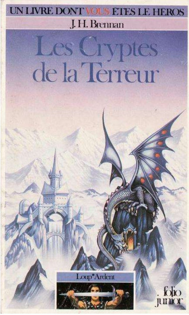 J.H. Biennali Les Cryptesde la Terreur Loup*Ardent / 2 par Catherine Chaîne Illustrations de Geoff Taylor Gallimard